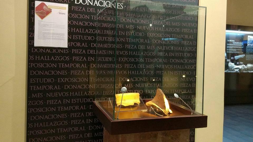 Presentada la pieza del mes de septiembre en el Museo Arqueológico