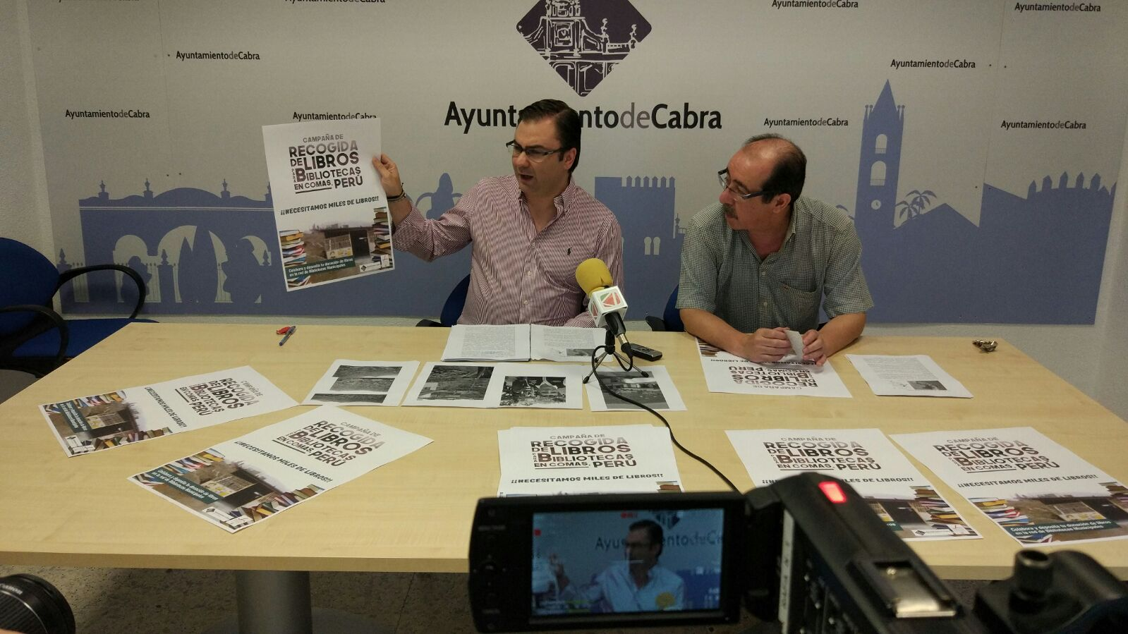 """El Ayuntamiento pone en marcha una campaña de recogida de libros para """"Comas"""" en Perú"""