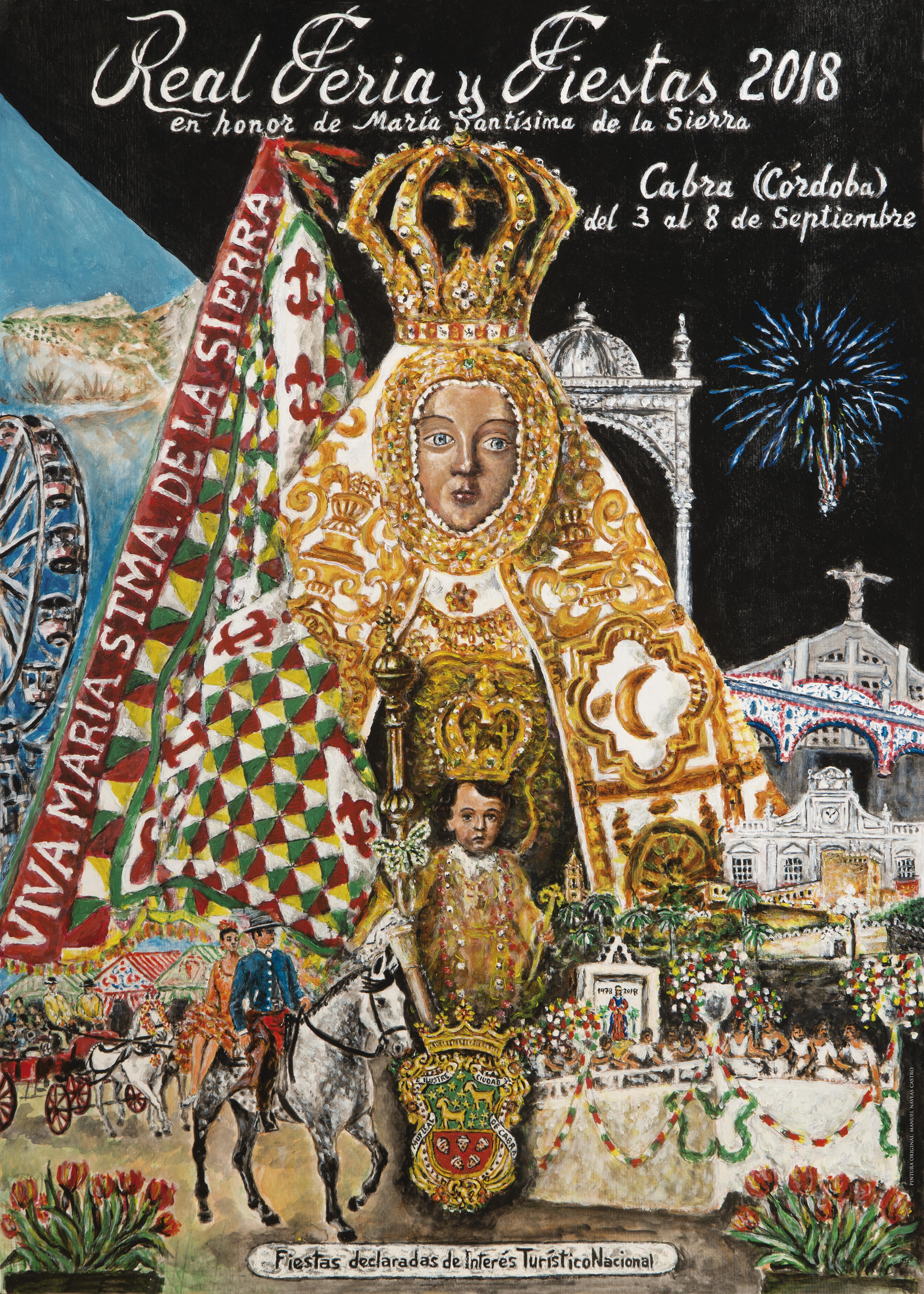 Presentado el programa oficial de la Feria y Fiestas de Septiembre