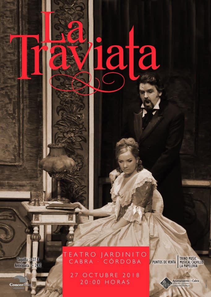 La Traviata de Verdi llega al Teatro El Jardinito el próximo 27 de octubre