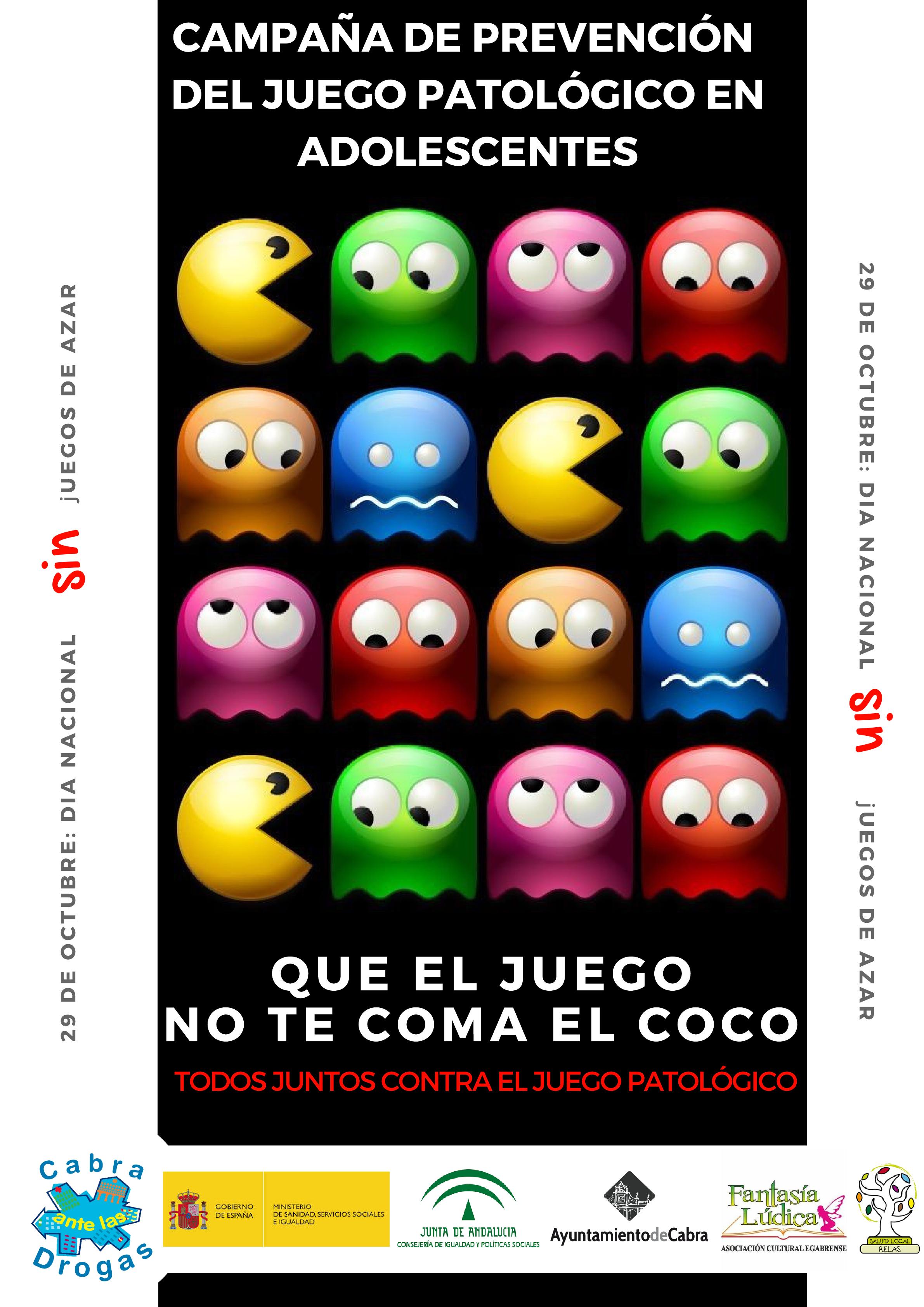 El Programa Ciudades ante las Drogas lanza una campaña de prevención contra el juego patológico