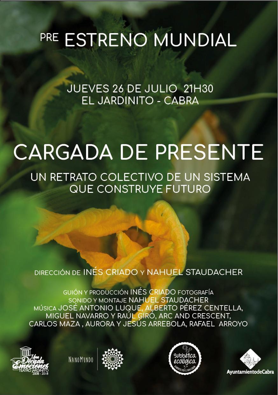 """Subbética Ecológica se prepara para el estreno de la película """"Cargada de presente"""""""