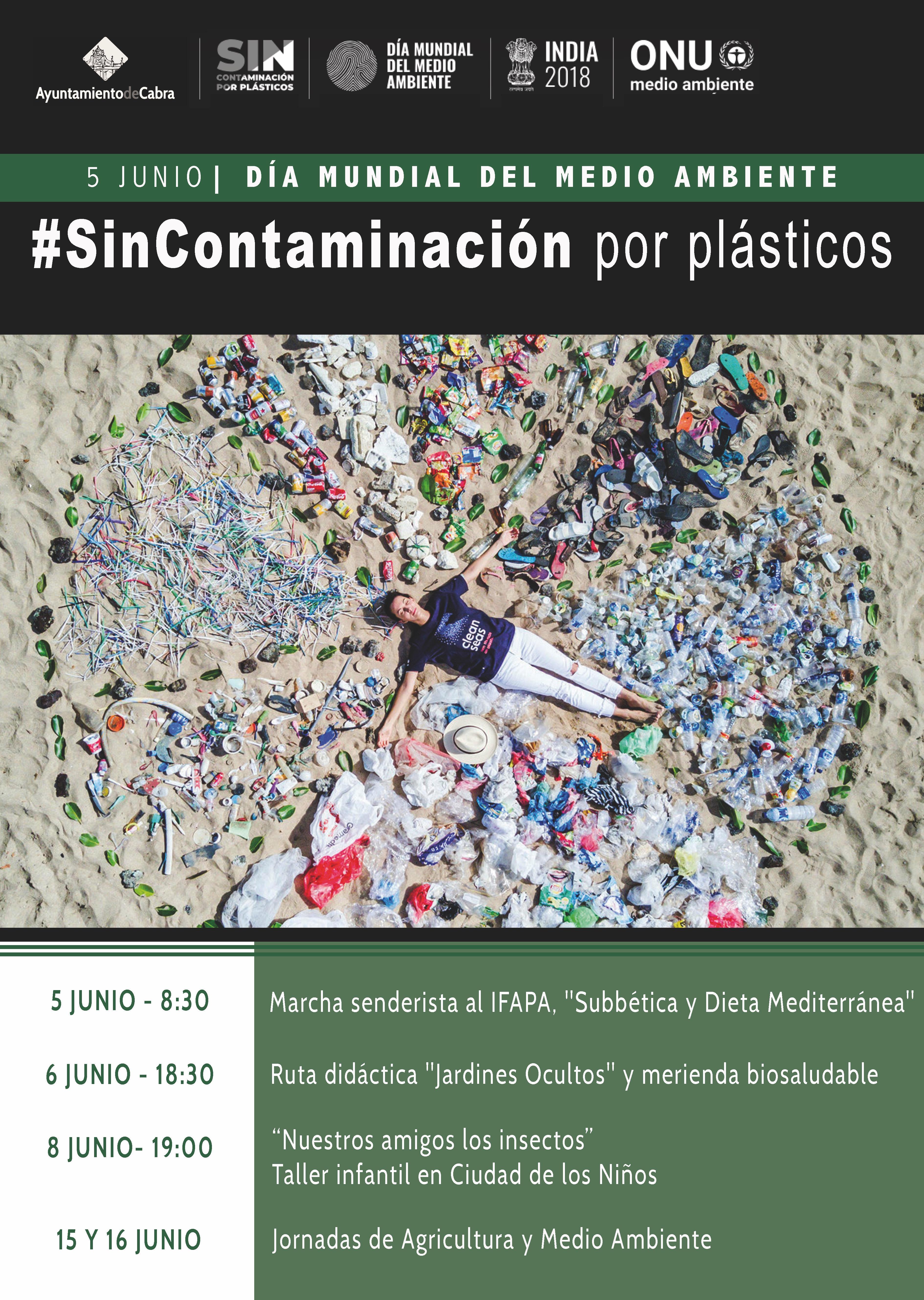 El Ayuntamiento conmemora el Día Mundial del Medio Ambiente con actividades a lo largo de todo el mes de junio