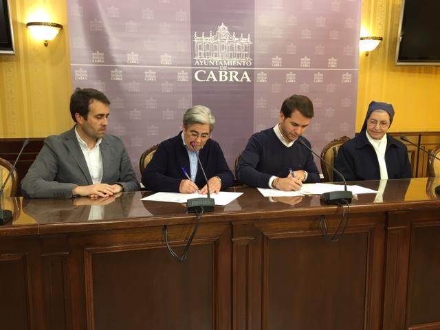El Ayuntamiento suscribe un convenio de colaboración con la Fundación Termens