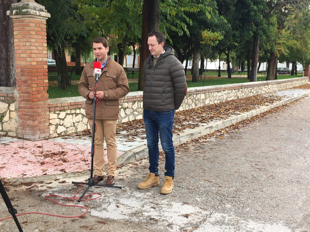 El Ayuntamiento acomete una nueva obra en la Barriada Virgen de la Sierra