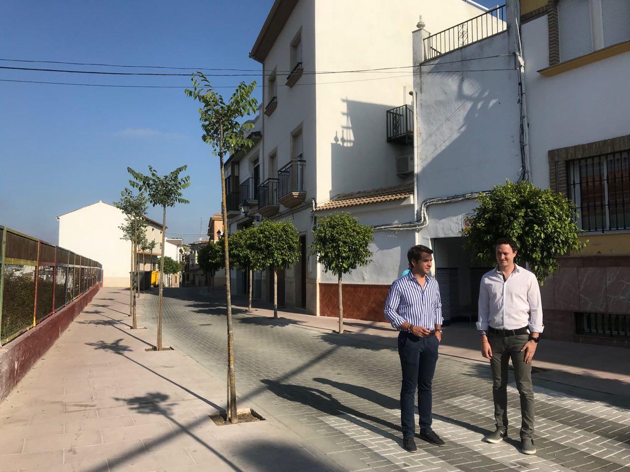 El Ayuntamiento presenta las obras de mejora de la calle Santo Cristo