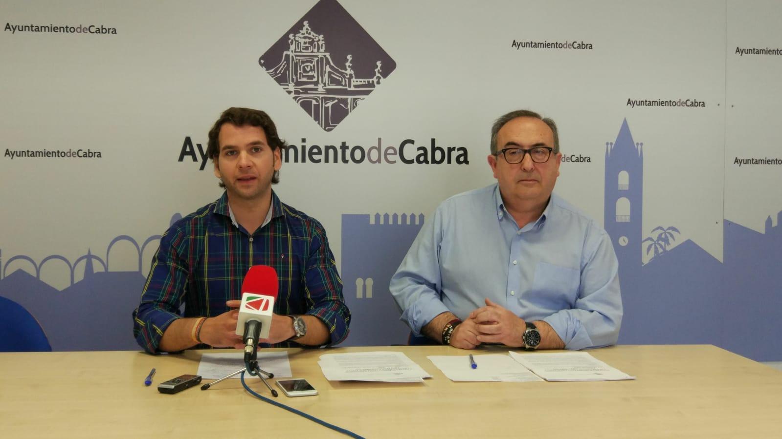 El Ayuntamiento de Cabra se hace cargo del coste total del montaje de casetas en la próxima Feria de Septiembre