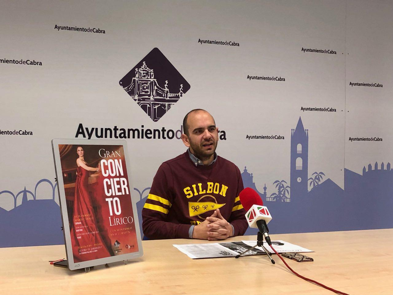 El Teatro El Jardinito acogerá un concierto lírico el próximo 10 de febrero