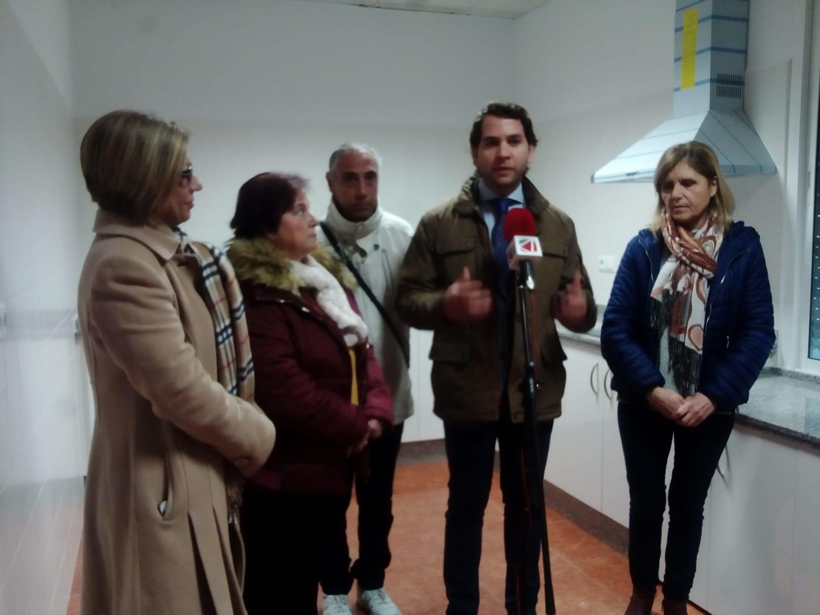 El Centro Social de la Urbanización Blas Infante cuenta ya con una infraestructura básica de cocina
