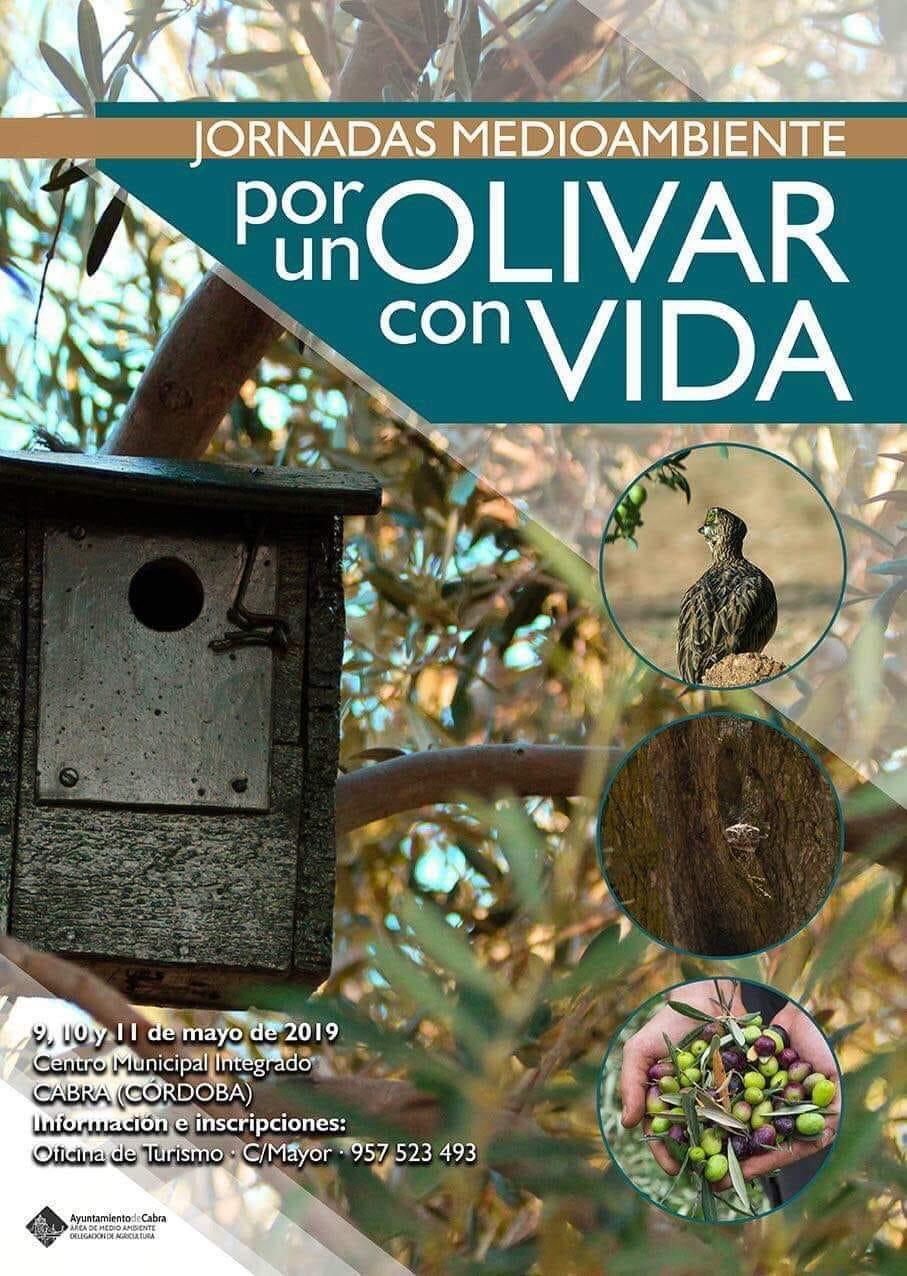 """El Centro ADIE acogerá las Jornadas Medioambientales """"Un olivar con vida"""""""