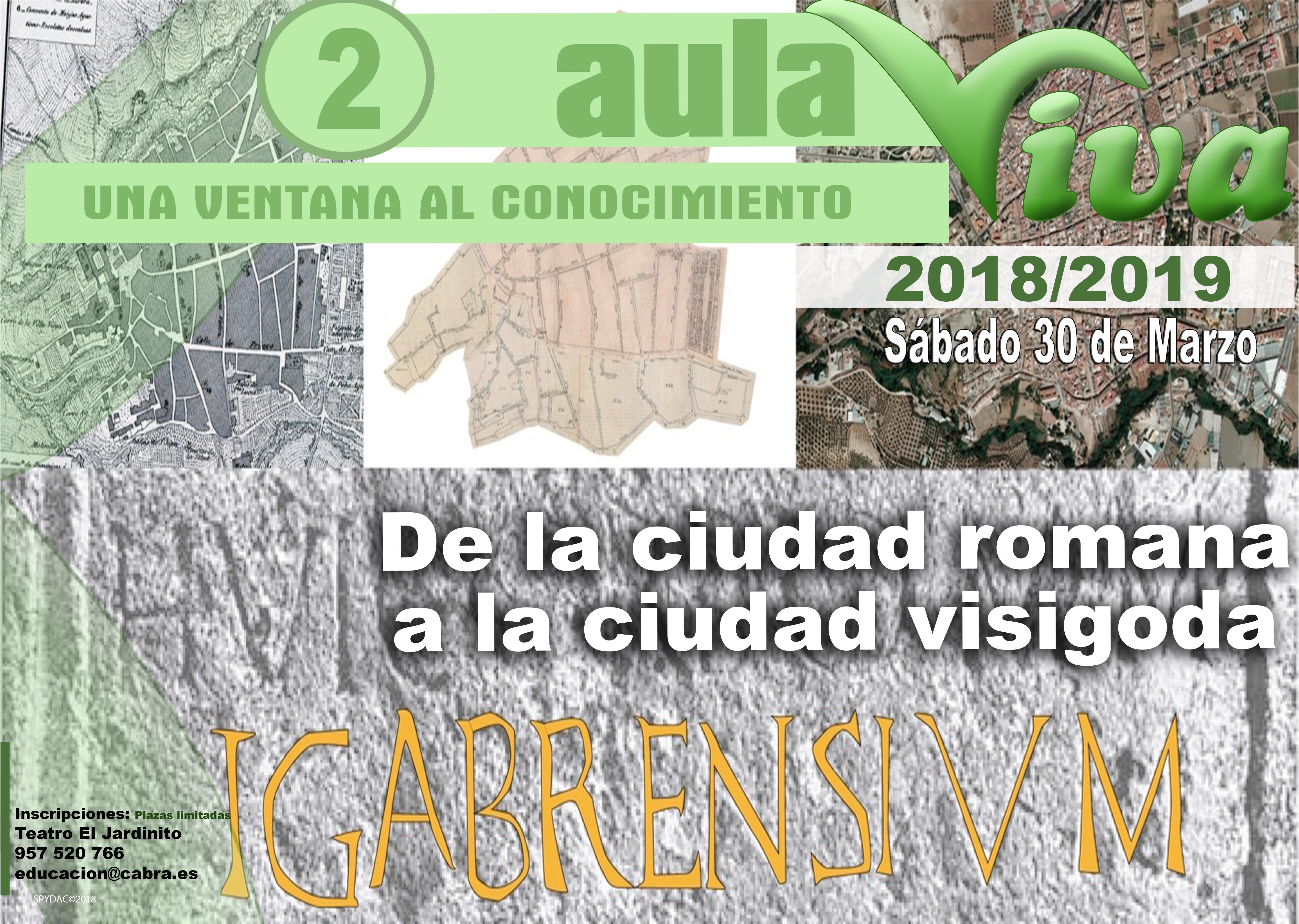El Programa Aula Viva celebra su segunda visita el próximo 30 de marzo