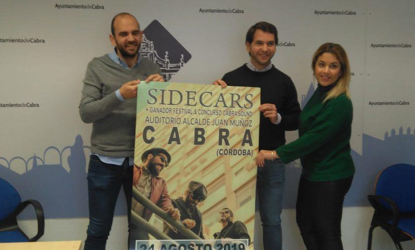 Los Madrileños Sidecars Se Unen A La Programación De Verano En El Auditorio Alcalde Juan Muñoz Ayuntamiento De Cabra