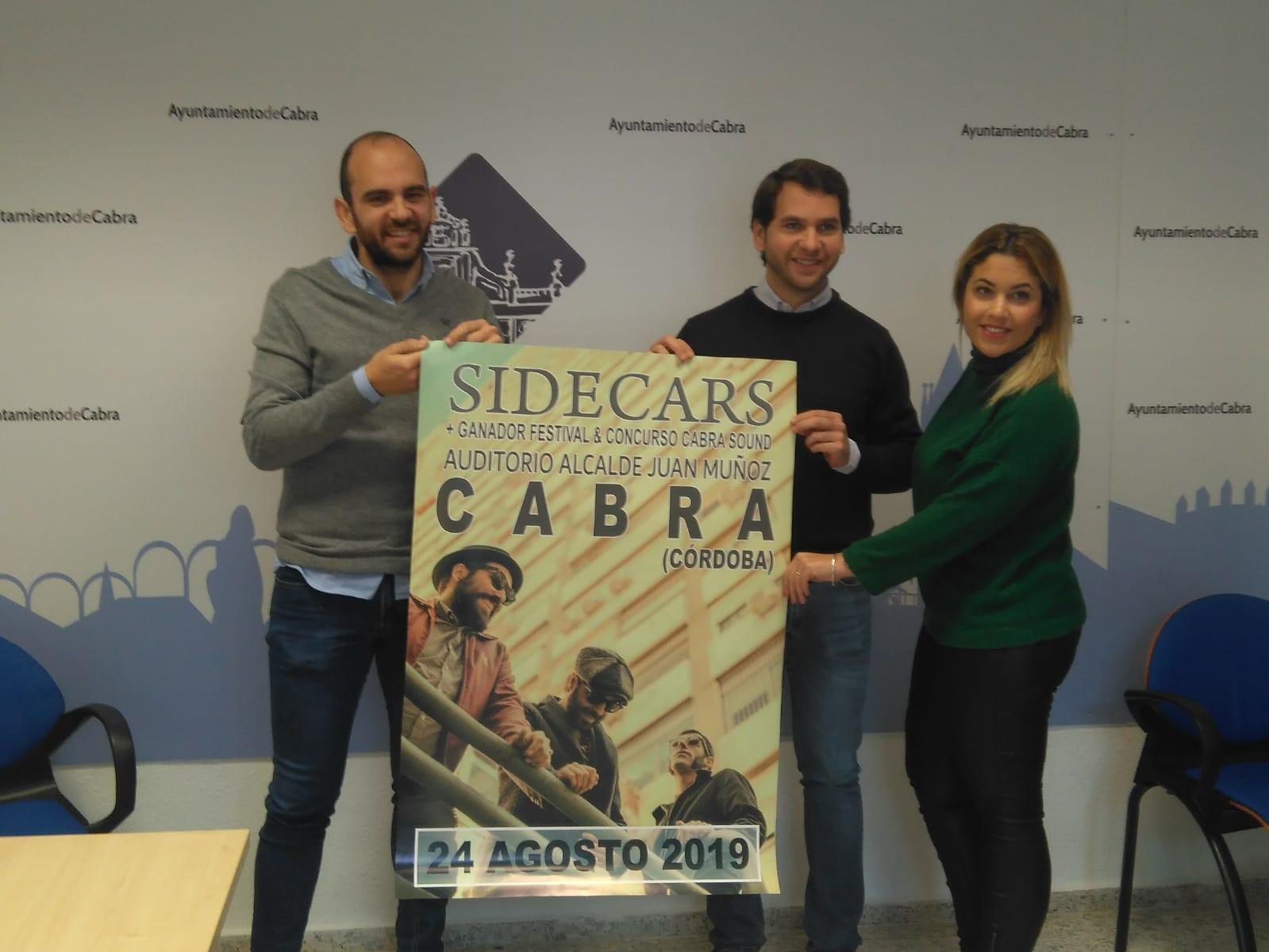 Los madrileños Sidecars se unen a la programación de verano en el Auditorio Alcalde Juan Muñoz