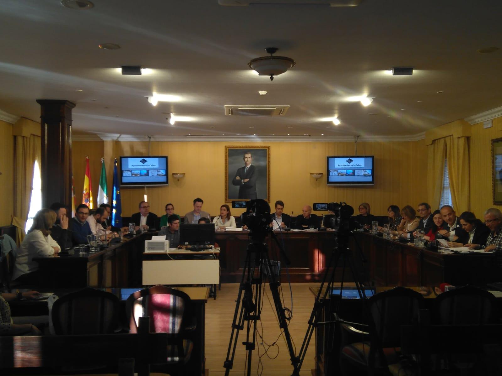 Celebrado el Pleno Municipal del mes de abril