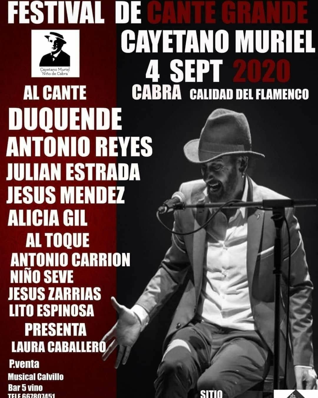 El Ayuntamiento de Cabra firma un convenio con la Peña Flamenca Cayetano Muriel 'Niño de Cabra' para el año 2020