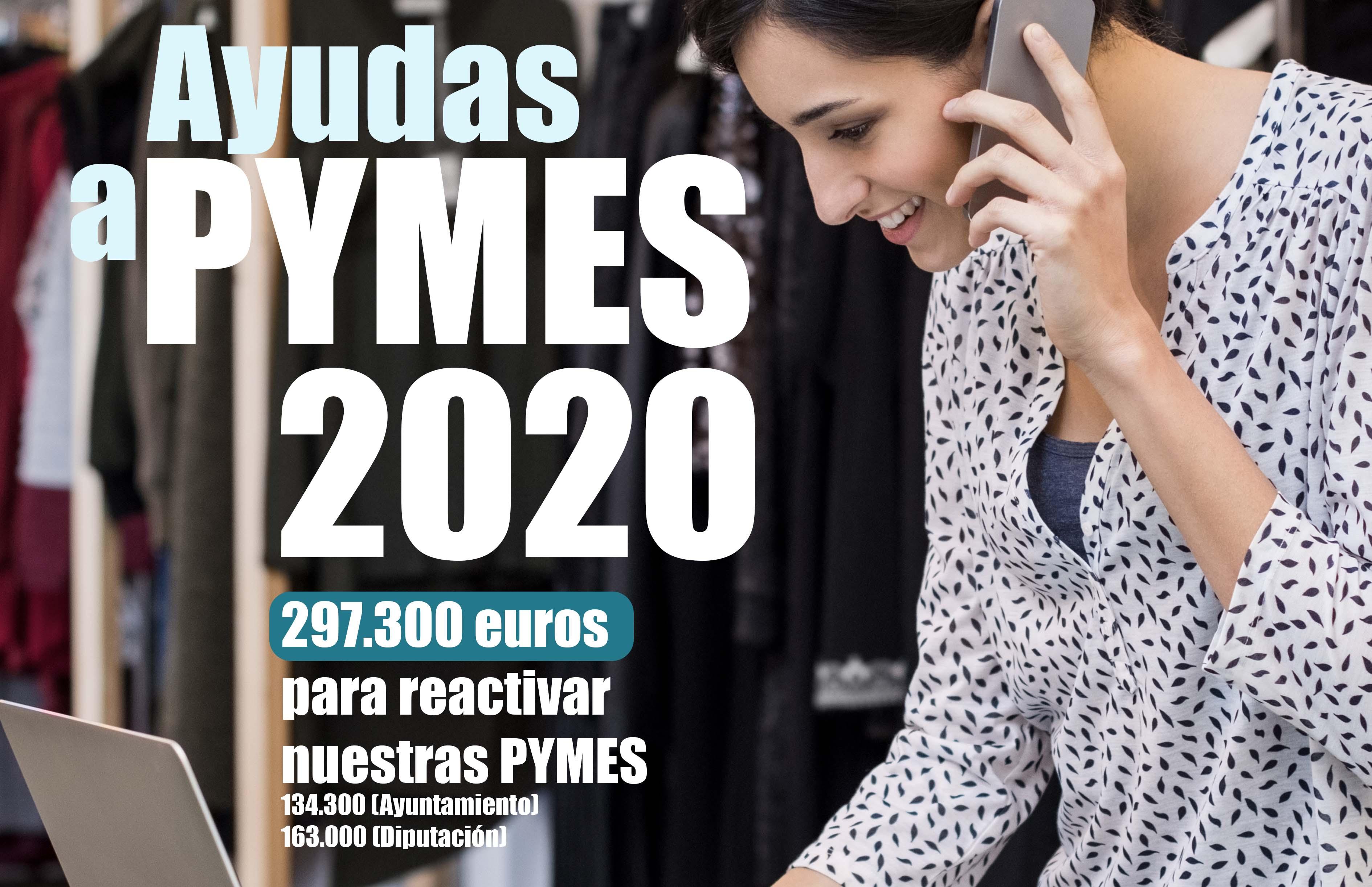 Ayudas 2020: 297.300 euros para reactivar nuestras PYMES