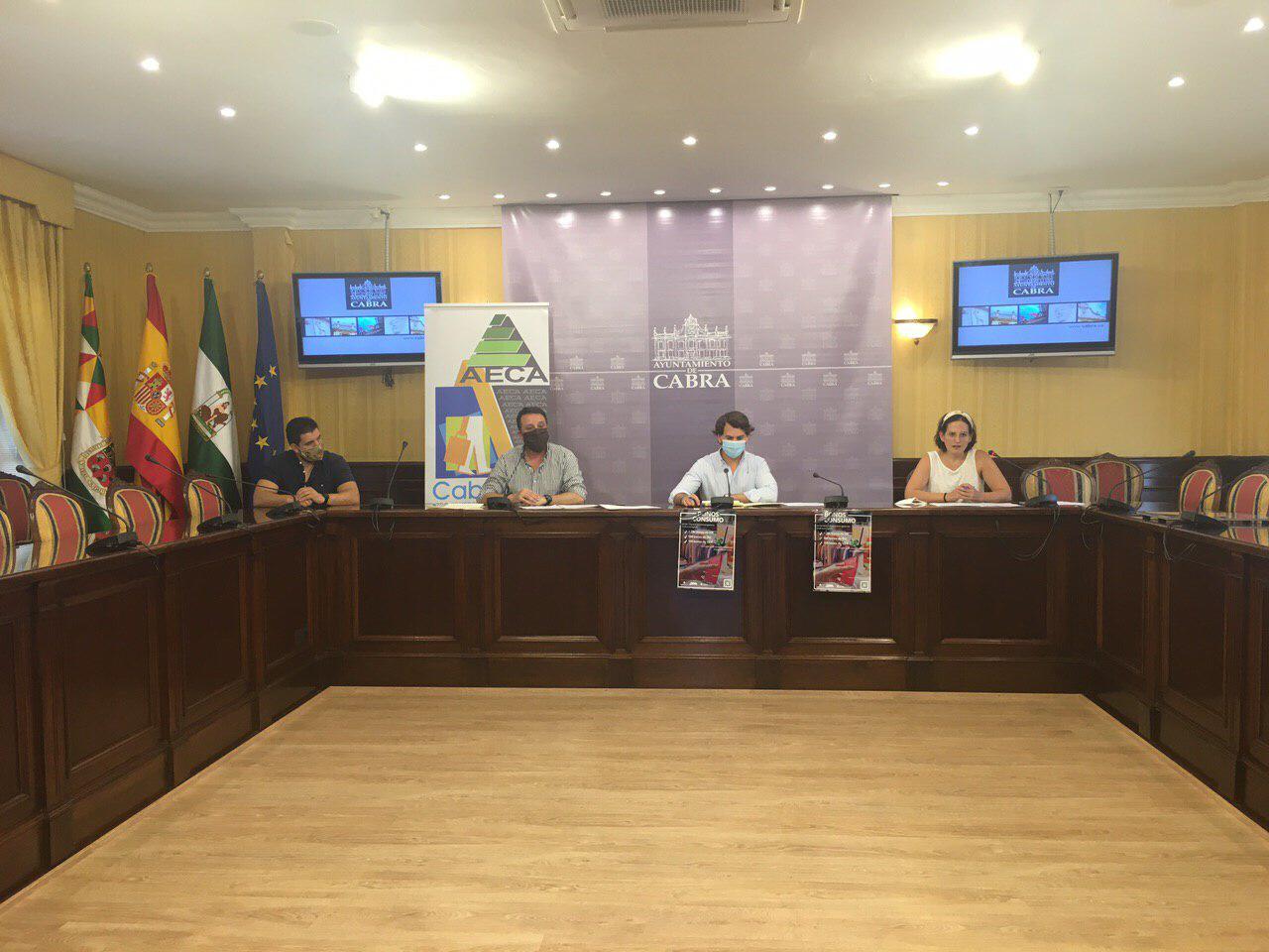 El Ayuntamiento de Cabra y AECA distribuirán 2350 bonos de consumo en establecimientos hosteleros y hoteleros