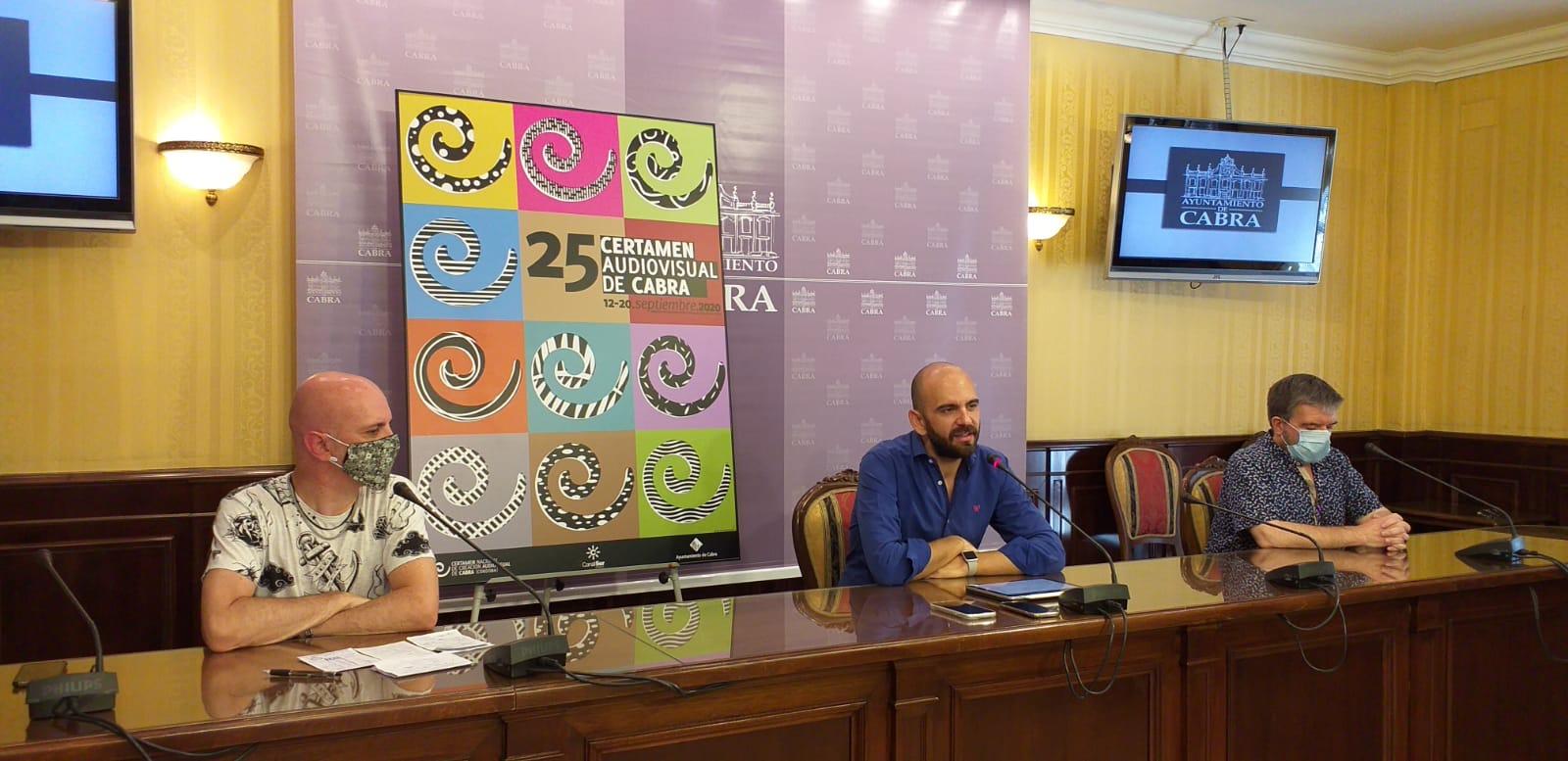 La XXV Edición del Certamen Nacional de Creación Audiovisual de Cabra se celebrará del 12 al 20 de septiembre
