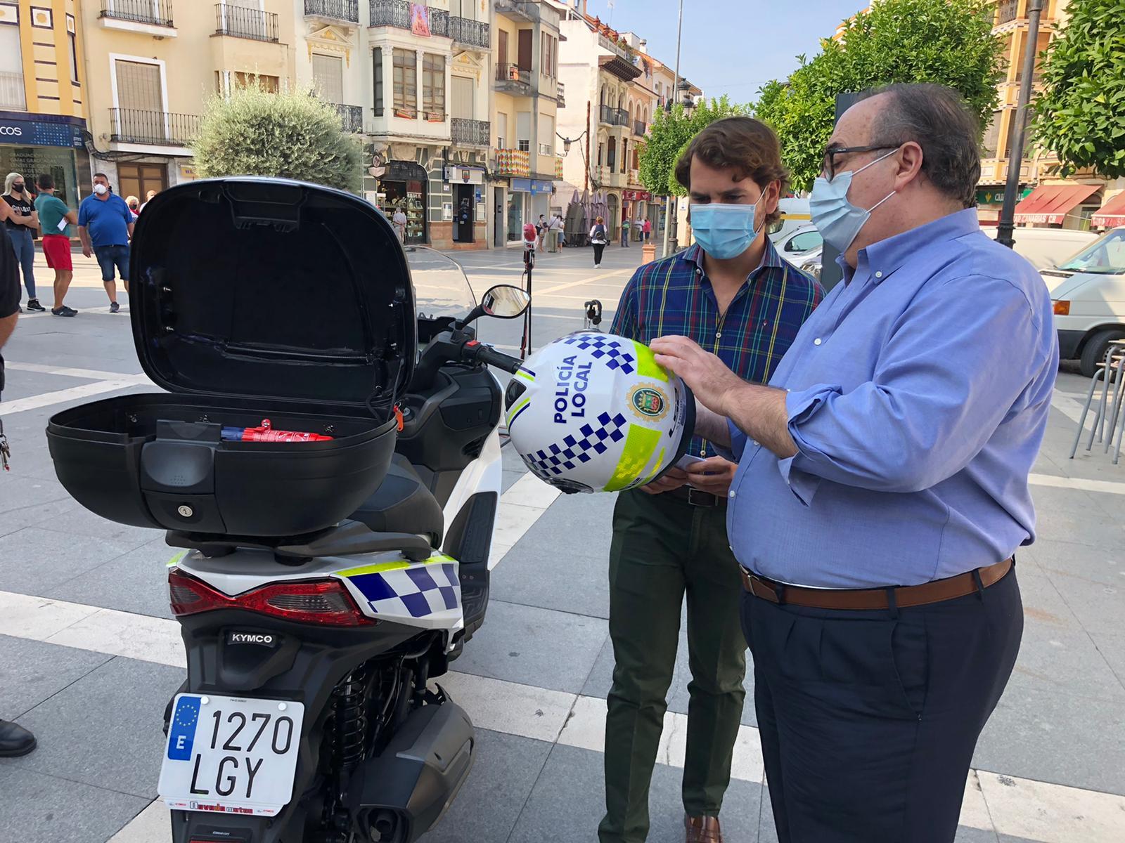 El Ayuntamiento de Cabra adquiere dos motocicletas para la Policía Local con una inversión de 12.000 euros