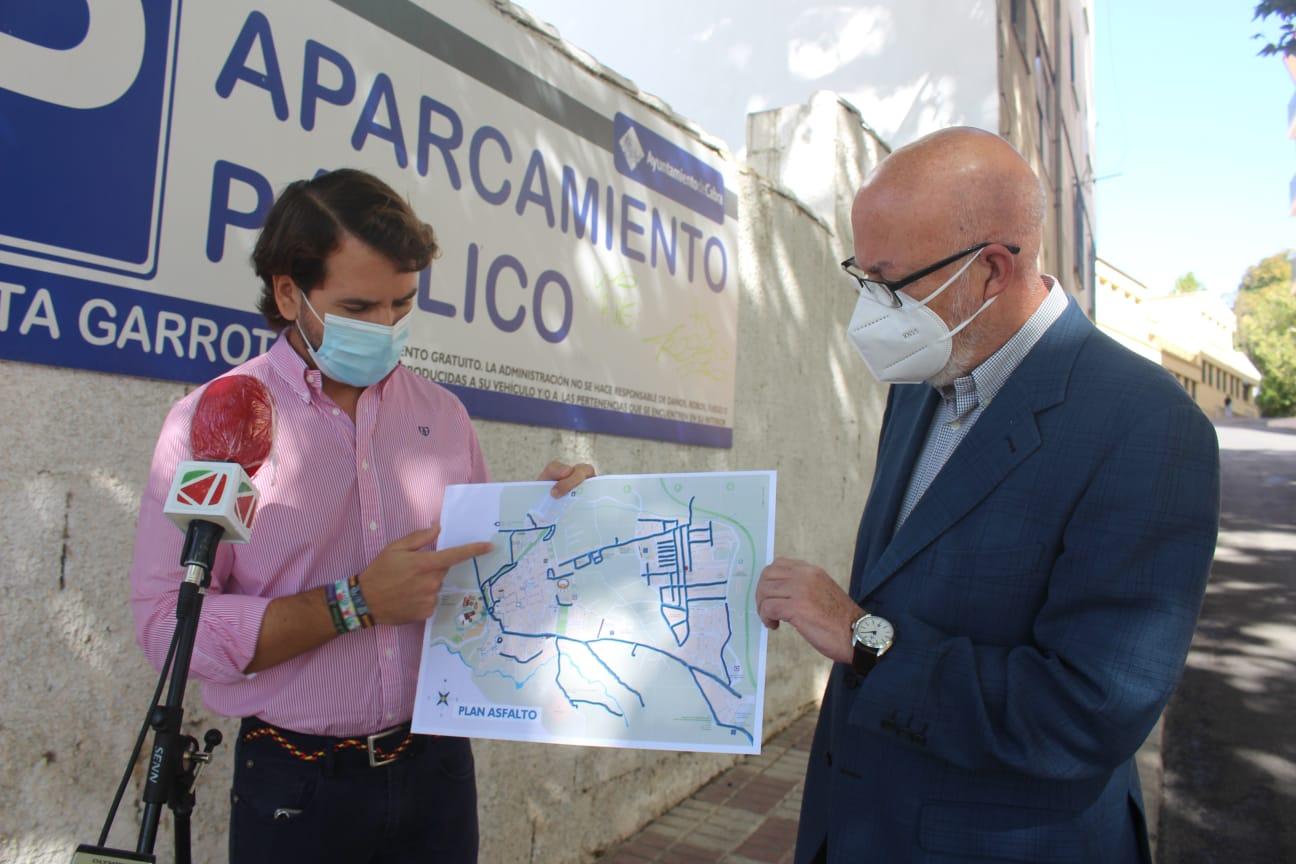 El Ayuntamiento de Cabra destina 242.000 euros al Plan Asfalto