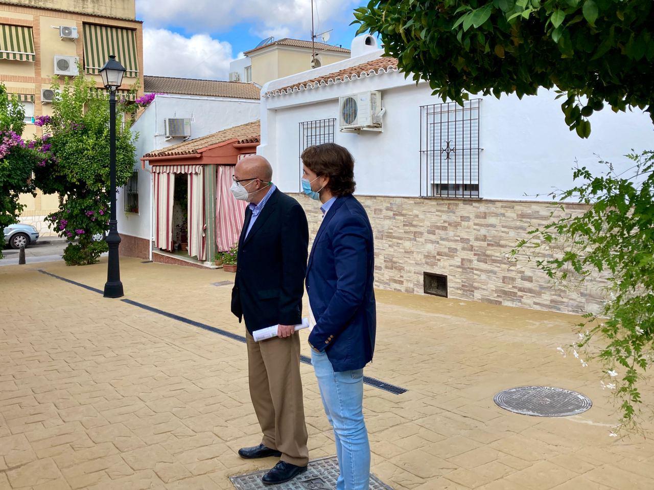 Concluye la primera fase de obras en la Urbanización Cooperativa Jesús Obrero, con una inversión de 235.000 euros