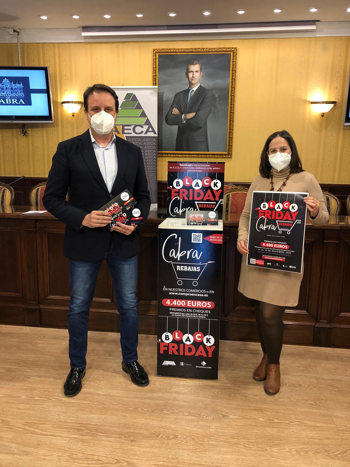 El Black Friday repartirá 4.400 euros en premios en el comercio egabrense