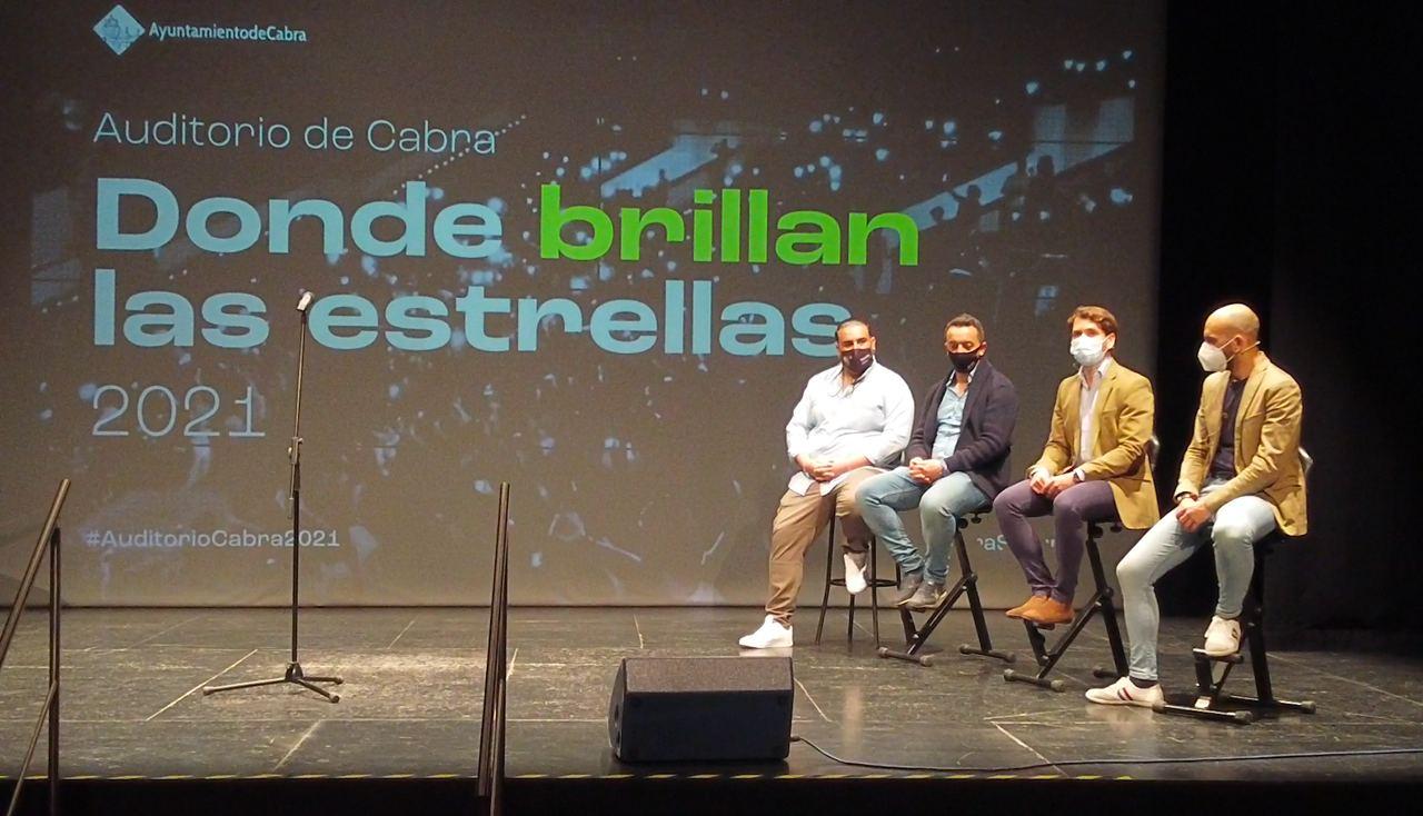 """Presentado el Festival """"Donde brillan las estrellas"""" en el Auditorio Alcalde Juan Muñoz"""