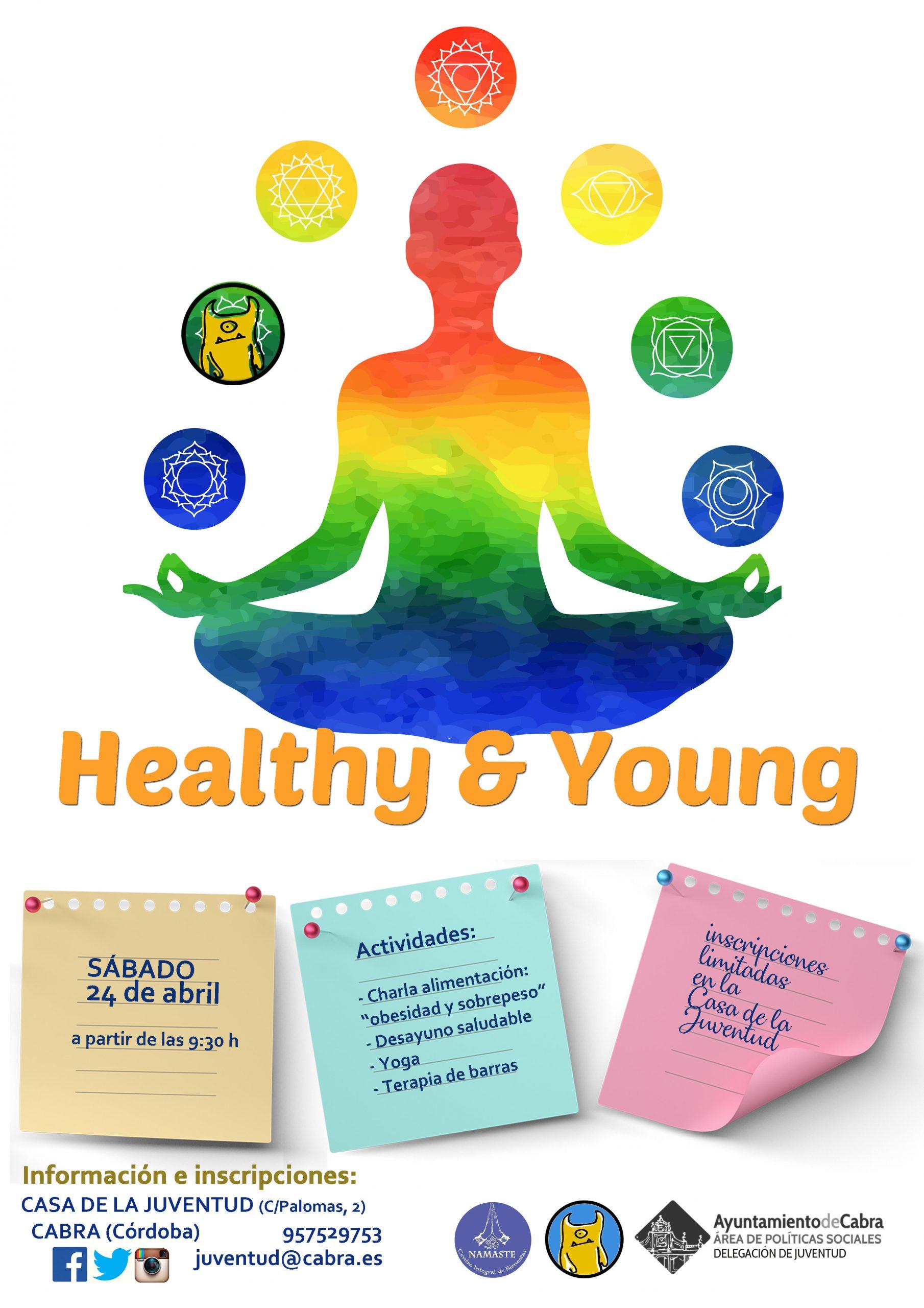"""La Delegación de Juventud organiza """"Healthy & Young"""" una jornada saludable para jóvenes"""