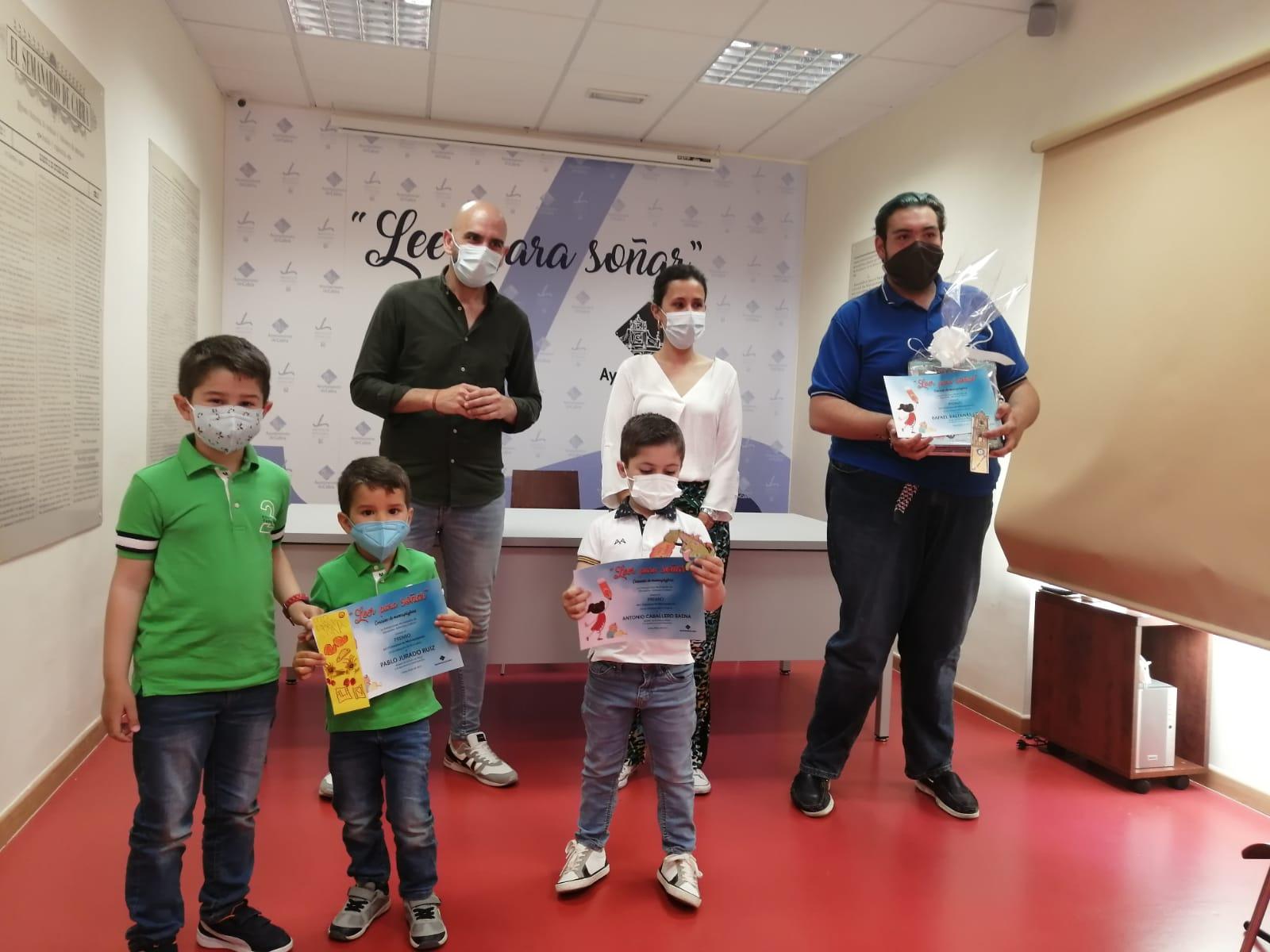 Entregados los Premios del Concurso Infantil de Marcapáginas