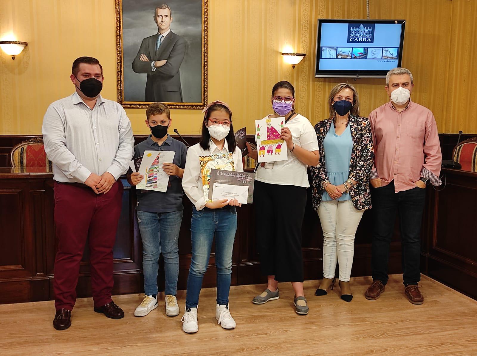 Entregados los premios del IV Concurso Escolar de Dibujo y Pintura de Semana Santa Infantil 2021