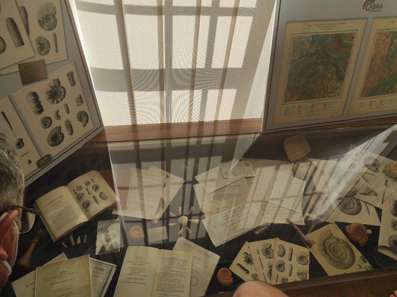 El Museo Cabra Jurásica acoge una exposición temporal del geólogo Wildrid Kilian