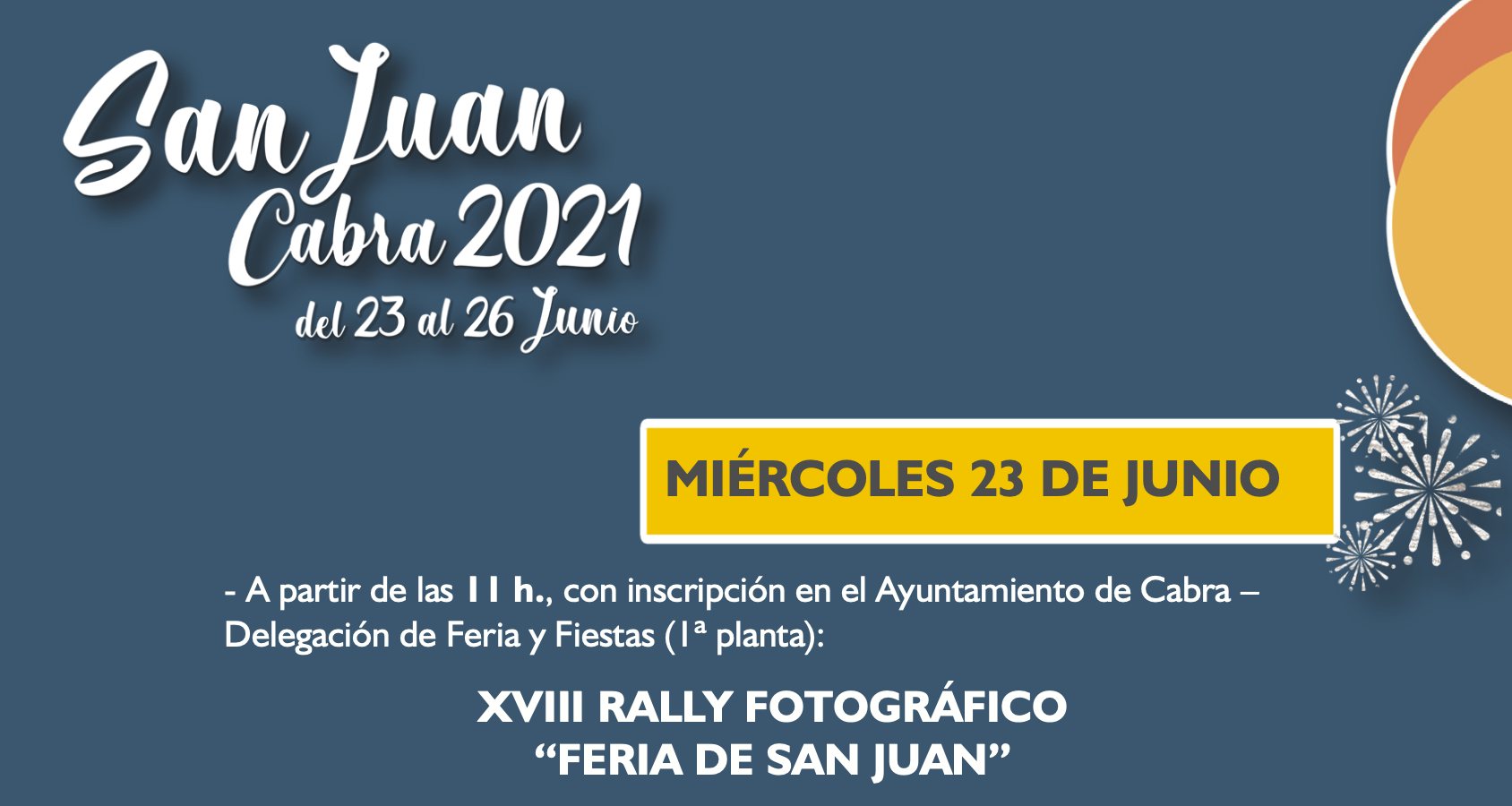 Bases concurso rally fotográfico San Juan 2021