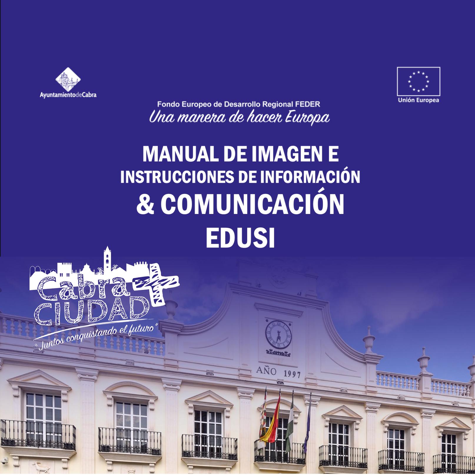 Manual de identidad corporativa EDUSI Cabra